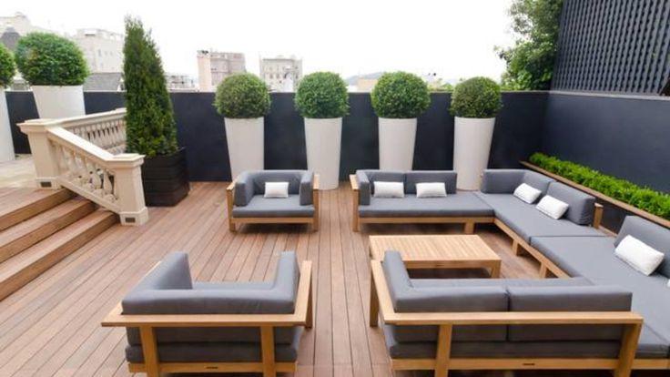 Modern Outdoor Living Space House Pinterest