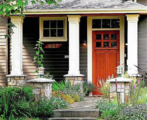 30 front door ideas and paint colors for exterior wood door decoratio - Exterior wood paint colors ideas ...