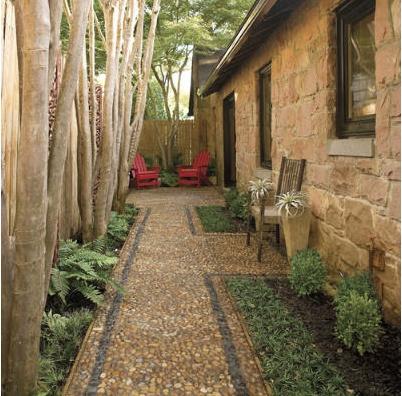 Narrow side yard landscaping ideas car interior design - Narrow backyard design ideas ...