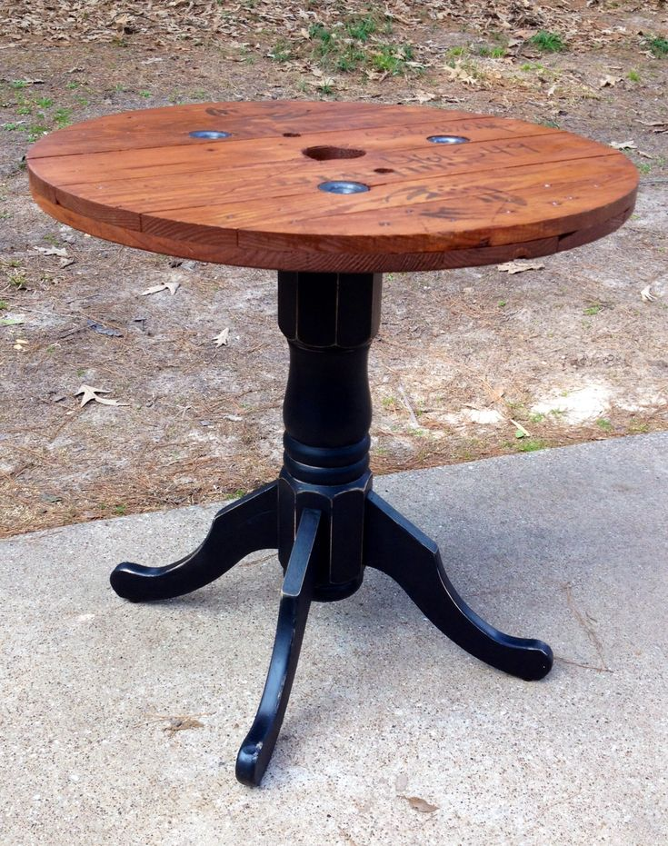 3 39 wire spool table diy pinterest