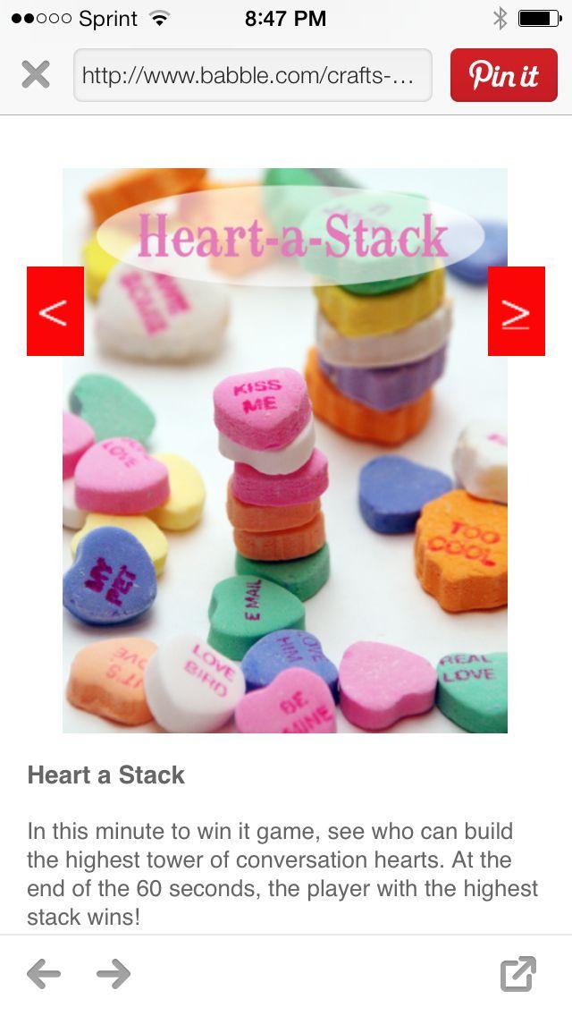 valentine game pinterest