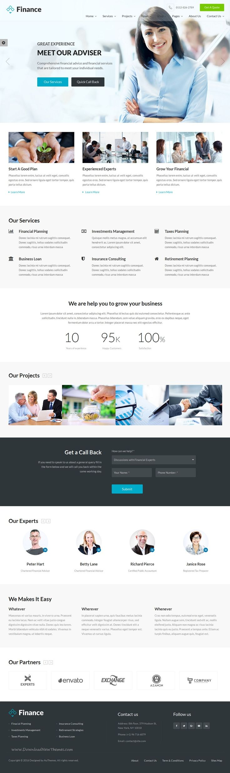 Tax consultant website template vatozozdevelopment tax consultant website template flashek Choice Image