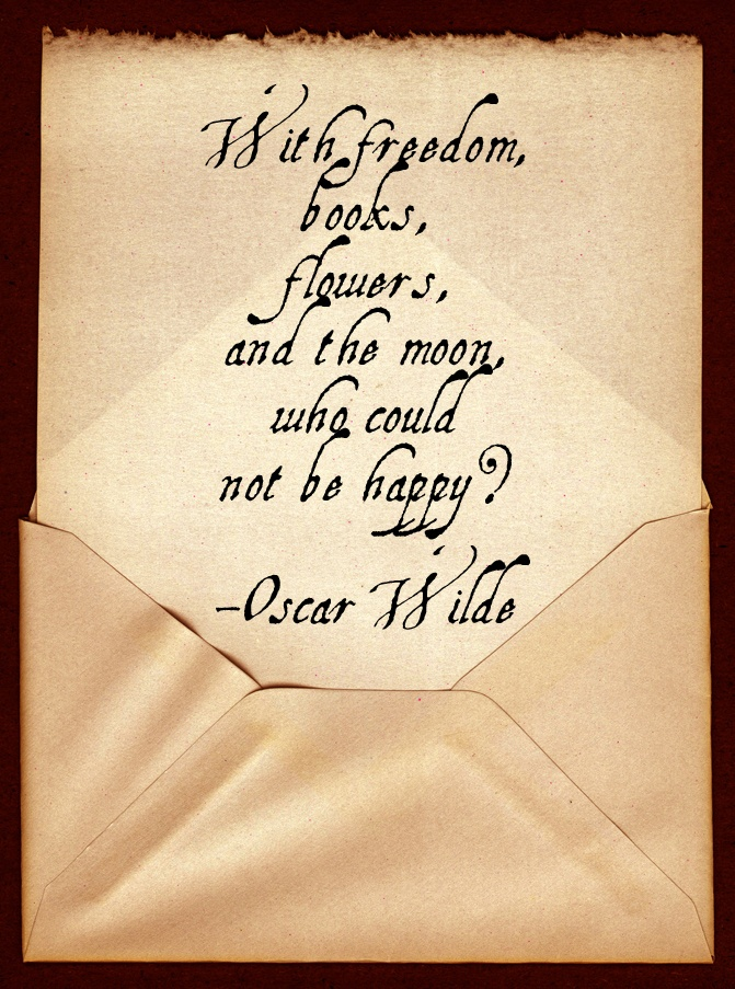 Quotes About Flowers Oscar Wilde : Oscar wilde inspirational