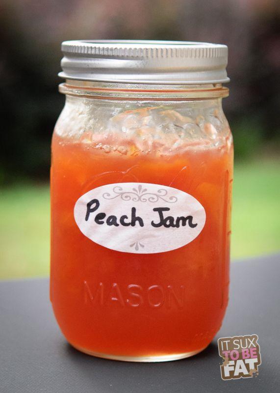 Homemade Peach Jam | Fruit | Pinterest