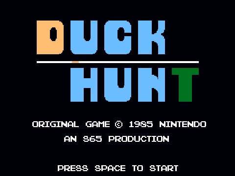 I loved this game #duckhunt