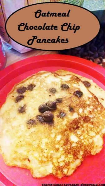 Oatmeal Chocolate Chip Pancakes | Favorite Recipes | Pinterest
