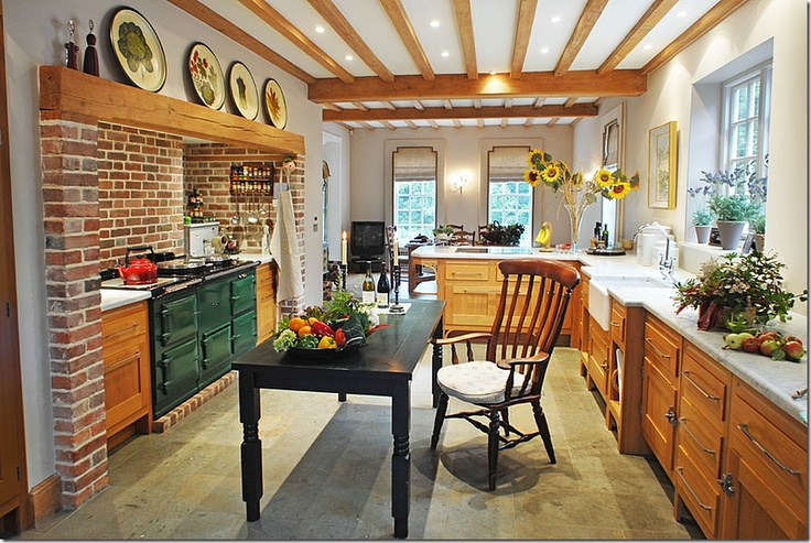 English cottage french country kitchens pinterest for English cottage kitchen pictures