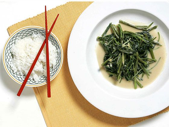 ... creamy sauce made of fermented bean curd, sugar, lime juice and water