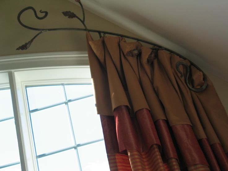 Curtain Rods For Apartments Flexible Curtain Rods for Wind