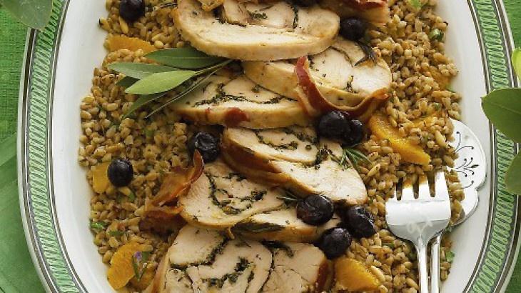 Tuscan-Roast Turkey Breast | looks tasty | Pinterest