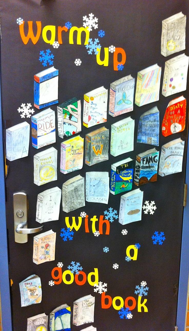 6th Grade English Classroom Decorations ~ Th grade winter bulletin boards pinterest