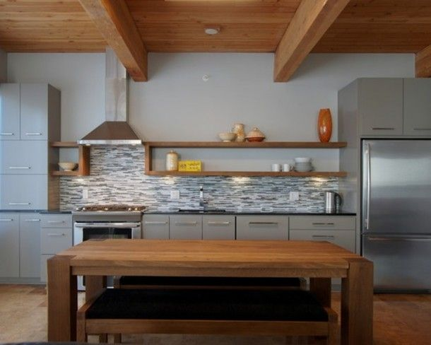 one wall kitchen with island designs jha home pinterest