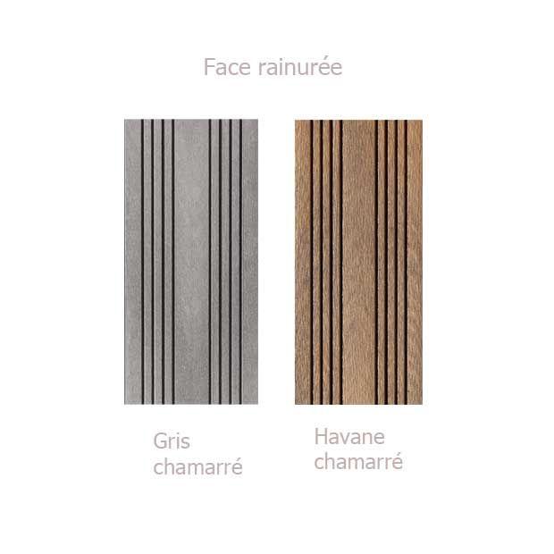 Bois composite  Les lames de terrasse en bois composite  Lapeyre