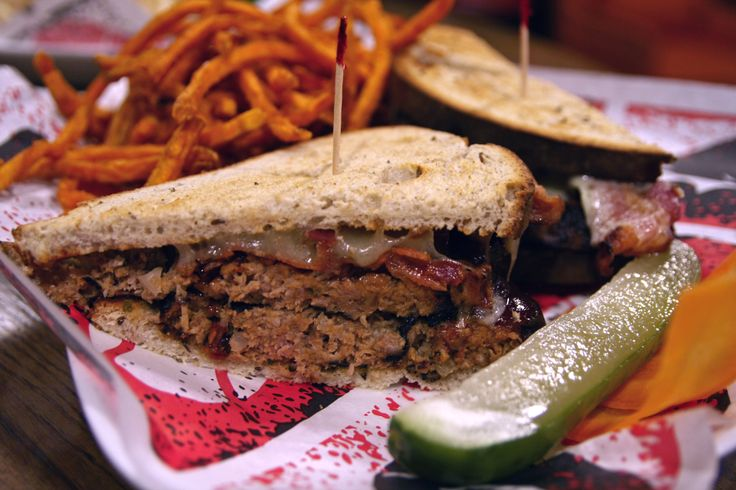 BBQ Meatloaf Sandwich as today's featured lunch special. Homemade ...