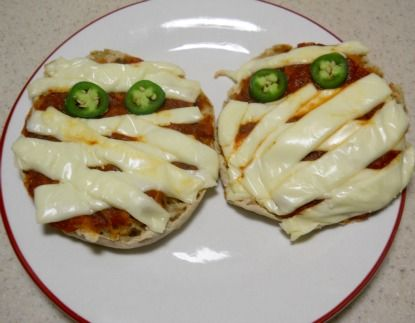 Pizza Mummies from USHS (meat free)