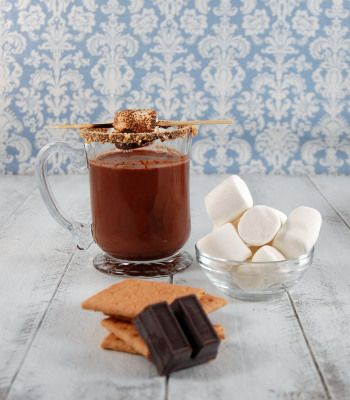 White-Chocolate Hot Cocoa With Coconut And Rum Recipes — Dishmaps