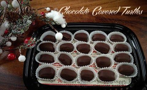 chocolate-covered-turtles | Rau Natural | Pinterest