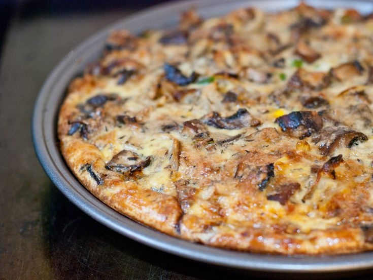 mushroom-and-leek-quiche | Tarts and Quiche | Pinterest