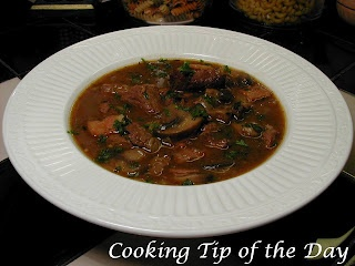 Steak and Mushroom Stew | Soups and Stews | Pinterest