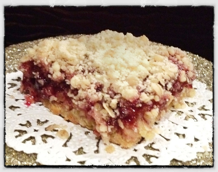 Raspberry Oat Bars Recipes — Dishmaps