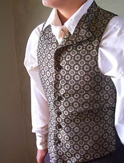 steampunk men's vest <3