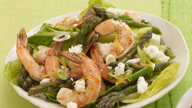 Shrimp and Asparagus Salad - What a delicious combination of simple ...