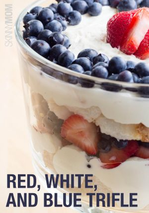 Red, White, and Blue Trifle | Recipe
