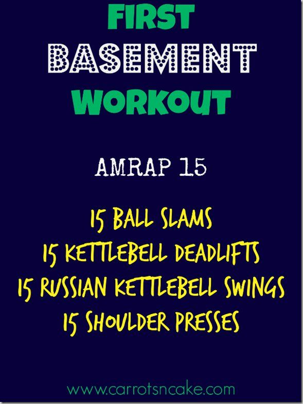 First_Basement_Workout