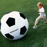 """Giant 40"""" Personalized Soccer Ball"""