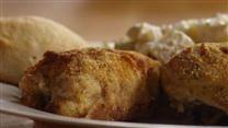 Garlic-Lemon Double Stuffed Chicken | Recipe