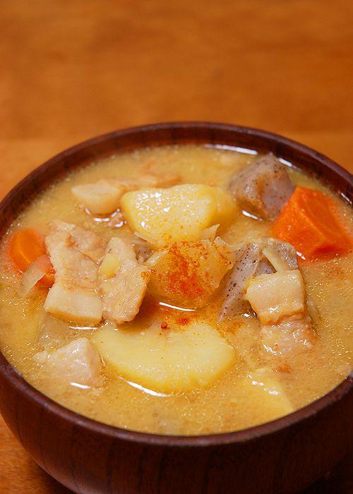 Tonjiru-豚汁- ♥ ♥ ♥ | Food | Pinterest
