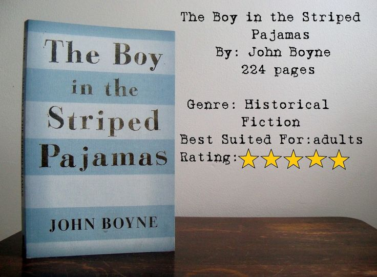 the boy in the striped pajamas review book