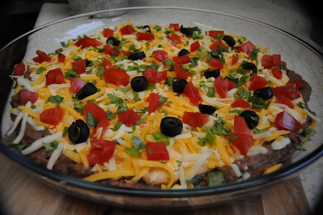Mexican Layered Dip-AND other amazing recipes too if you just scroll ...