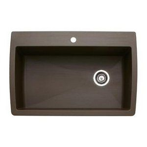 Brown Farmhouse Sink : brown farmhouse sink with offset drain For my Home Pinterest