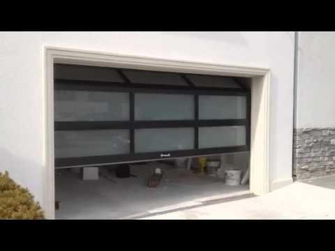 Aluminium garage