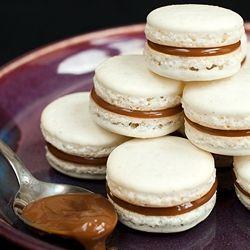 Dulce de Leche Macarons | belly fillers | Pinterest