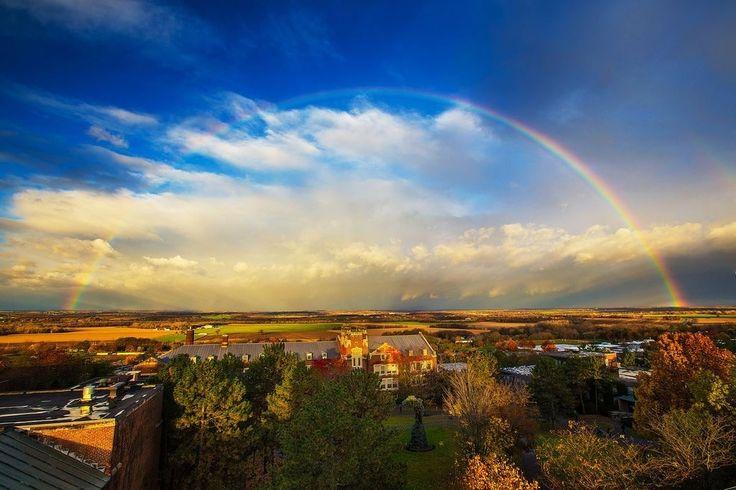 Somewhere over the rainbow SUNY Geneseo Amazing beauty! Keith Walters ...