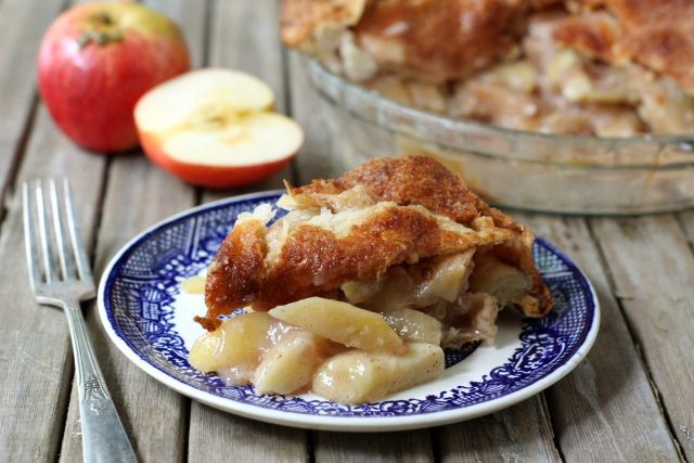 Mile High Apple Pie | Completely Delicious - I wonder if I can use raw ...
