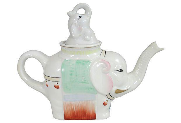Elephant teapot teapots ii pinterest - Elephant cast iron teapot ...