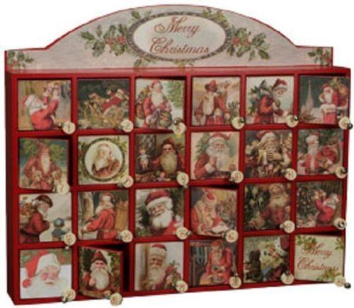 Wooden Christmas Countdown Calendar Calendar Template 2016
