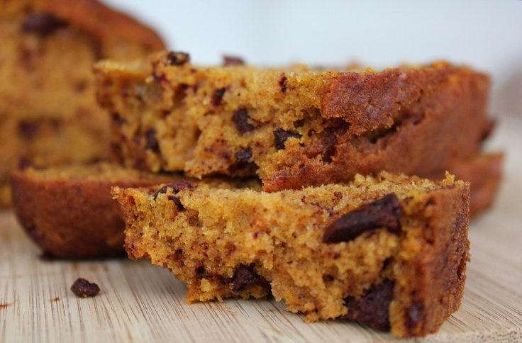 Chocolate Chip Pumpkin Bread | The Monster Mash | Pinterest