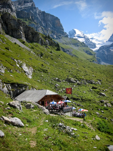 Kandersteg Switzerland  city images : Kandersteg, Switzerland We had our lunch here and the very friendly ...