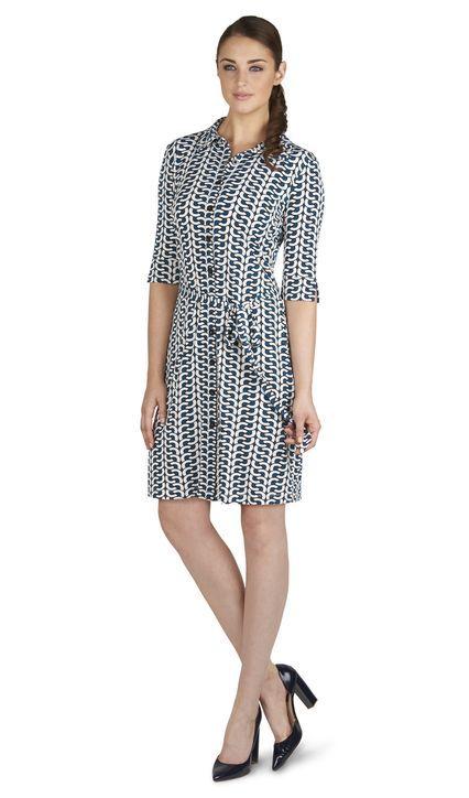 Beth Shirt Dress, TM Lewin, £65 | Treat Yo Self | Pinterest