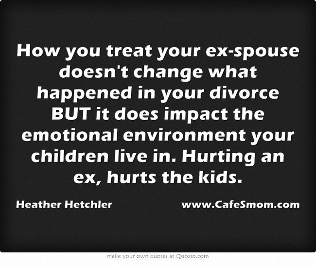 divorce how does it affect children What divorce really does to children - in their own shattering words: if you're divorced, or thinking about it, their testimony will shake you to the core did his parents worry about.
