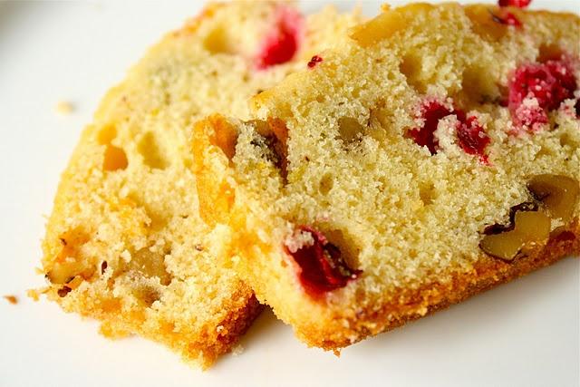 Cranberry Orange Walnut Loaf | Food | Pinterest
