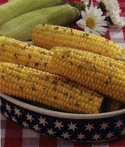 Skillet Sweet Corn on the Cob with Parmesan and Cilantro | Recipe