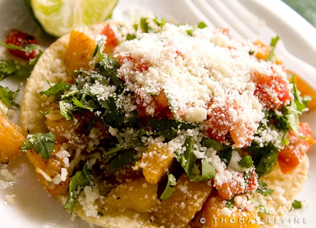 butternut squash tostada | food i can't get off my mind | Pinterest