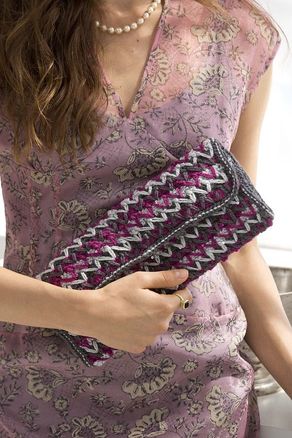 Crochet Clutch Pattern Free : Free Crochet Pattern: Crochet Clutch Crochet All Day Pinterest