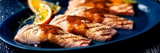 Balsamic Glazed Salmon | Always Trying to Diet | Pinterest