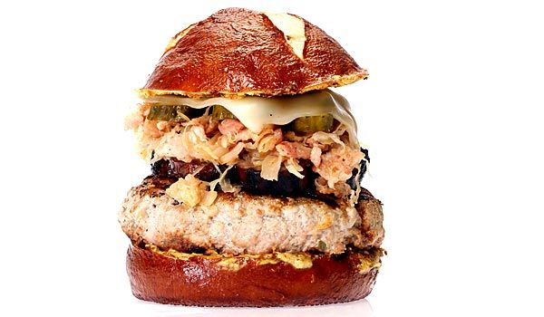 Battle of the Burgers recipe: German Cuban pork burger